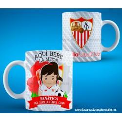 Taza Sevilla Futbol Club chica