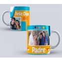 Taza Personalizada Día del Padre mod. 1