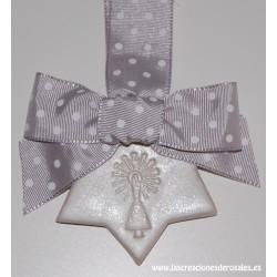 """Medalla Estrella gris """"PILARICAS"""""""