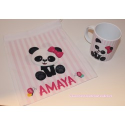 Pack Osita Panda (taza+bolsita)