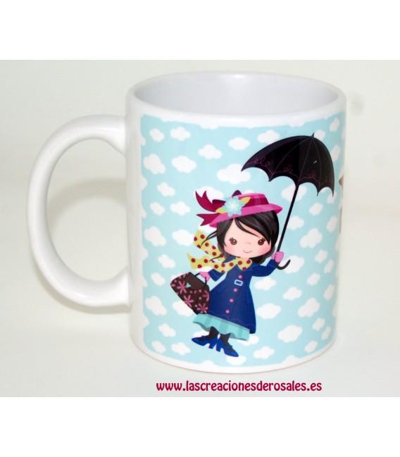 Taza Mary Poppins Personalizada