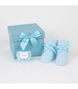 Cajita Patucos Azul