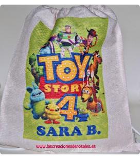 Bolsa Saco Toy Story personalizada