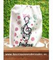 Bolsa saco Música Personalizada